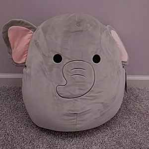 Remarkable New With Tags Mila The Elephant 16 Squishmallow Nwt Ibusinesslaw Wood Chair Design Ideas Ibusinesslaworg